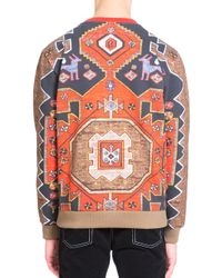 Givenchy - Multicolor Persian Print Cotton Sweatshirt for Men - Lyst
