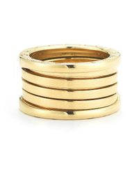 BVLGARI - Multicolor Pre-Owned: Bvlgari B.Zero1 Band Ring In 18Ky - Lyst