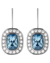 Dyrberg/Kern | Metallic Dyrberg/kern Swarovski Crystal Drop Earrings | Lyst