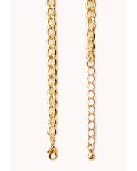 Forever 21 - Yellow Sleek Beaded Bib Necklace - Lyst
