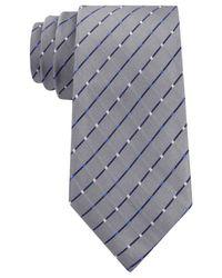 Geoffrey Beene - Gray City Grid Tie for Men - Lyst