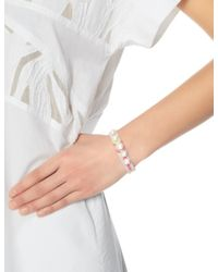 Lucy Folk | Metallic Golden Sun Cotton Friendship Bracelet | Lyst