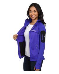 Adidas | Purple Terrex Stockhorn Fleece Hoodie | Lyst