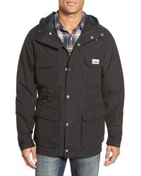 Penfield | Black 'kasson' Hooded Field Parka for Men | Lyst