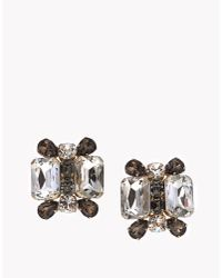 DSquared² | Metallic Ophelia Earrings | Lyst