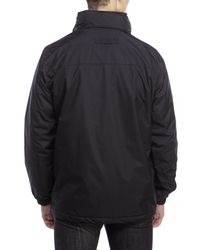Izod | Black Ripstop Jacket for Men | Lyst