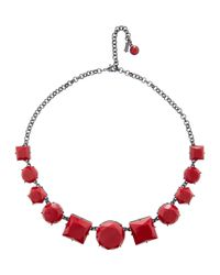 Hobbs | Red Ellie Necklace | Lyst