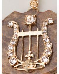 Vivienne Westwood - Brown Calista Necklace - Lyst