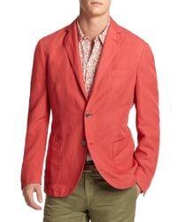Slowear   Red Chinolino Sportcoat for Men   Lyst