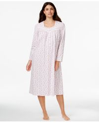 Eileen West | Multicolor Printed Long-sleeve Nightgown | Lyst