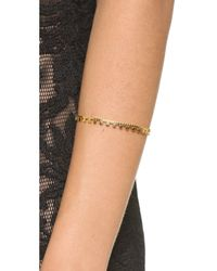 Vanessa Mooney | Metallic Hells Bells Cuff Bracelet - Gold | Lyst