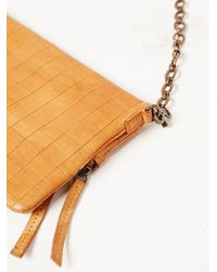 Free People - Brown Womens Capetown Leather Crossbdy - Lyst