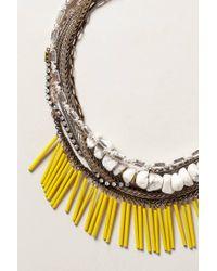 Anthropologie | Metallic Elotes Layered Necklace | Lyst