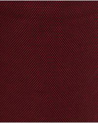 Zara | Red Bird's Eye Trousers for Men | Lyst