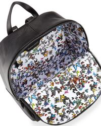 Christian Lacroix - Black Aurora Leather Backpack - Lyst