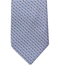 Lanvin | Blue Geometric-print Silk Tie for Men | Lyst