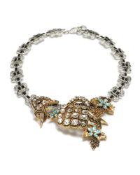 Lulu Frost - Metallic Vineyard Necklace - Lyst