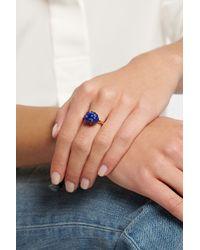 Bibi Van Der Velden - Blue Cloud 18-Karat Gold Lapis Lazuli Ring - Lyst