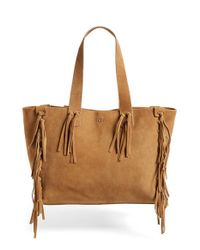 UGG - Brown 'lea' Tote - Lyst