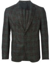 Tonello - Brown Checked Blazer for Men - Lyst