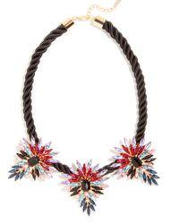 BaubleBar   Black Mohawk Collar   Lyst