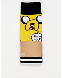 ASOS | Multicolor 2 Pack Socks With Adventure Time Print for Men | Lyst