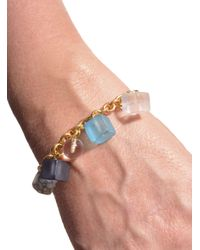 Lily Kamper - Blue Tower Block Charm Bracelet - Sold Out - Lyst