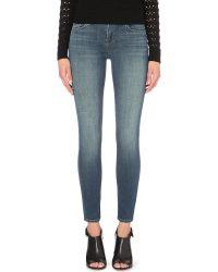 J Brand | Blue Skinny Mid-rise Jeans, Women's, Size: 26, Ingenue | Lyst