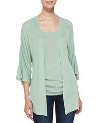 Belford | Blue Bambo Cashmere Kimono-sleeve Cardigan | Lyst