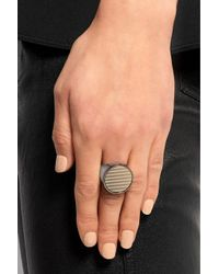 Givenchy | Metallic Ring In Gold And Palladium-Tone Brass | Lyst