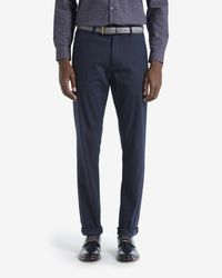 Ted Baker | Blue Brushed Cotton Pants for Men | Lyst