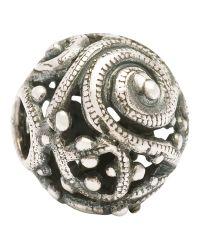 Trollbeads | Metallic Silver Whirl Bead | Lyst