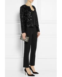 Dolce & Gabbana | Black Sequined Jacket | Lyst