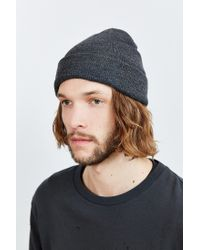 Urban Outfitters | Gray Uo Classic Beanie for Men | Lyst