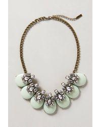 BaubleBar | Green Seastone Necklace | Lyst