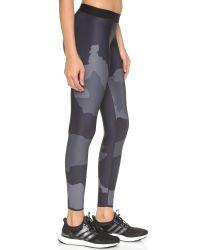Ultracor | Gray Camo Tech Print Leggings - Steel | Lyst