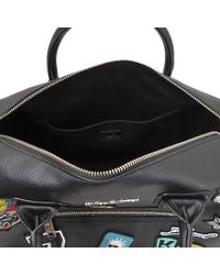 Karl Lagerfeld - Multicolor Karl Around The World Duffle - Lyst