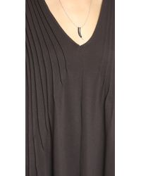 Free People - Sophie's Midi Tee Dress - Black - Lyst