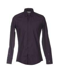 Maison Margiela | Purple Shirt for Men | Lyst