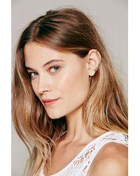 Free People - Metallic Knobbly Womens Minimal Ear Cuff - Lyst