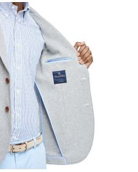 Brooks Brothers - Gray Knit Blazer for Men - Lyst