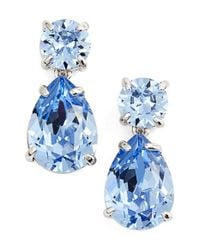kate spade new york | Blue 'dainty Sparklers' Drop Earrings | Lyst