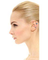 DANNIJO - Multicolor Dayna Triple Stone Drop Earrings - Lyst