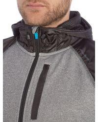 Björn Borg | Gray Pelsa Zip Through Hoodie for Men | Lyst