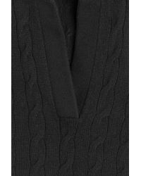 Ralph Lauren Black Label - Cashmere Knit Pullover - Black - Lyst