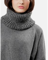 Wool And The Gang | Gray Sub Pop Snood | Lyst
