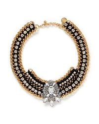 Venessa Arizaga - Metallic 'dance Hall Days' Necklace - Lyst