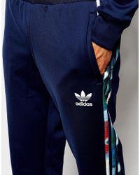 Adidas Originals | Blue Chaos Trackpants for Men | Lyst