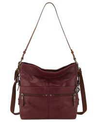 The Sak | Red Sanibel Bucket Bag | Lyst
