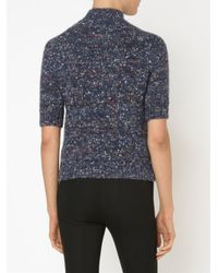 Theory | Blue Jodie Chunky-knit Wool And Silk-blend Sweater | Lyst